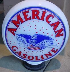 Rare American Gasoline Globe