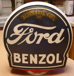 Ford Benzol Gas Globe!