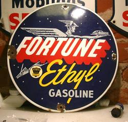 Rare Fortune Ethyl Sign