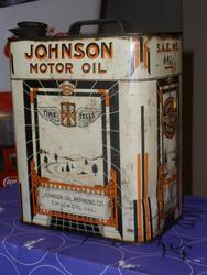 Rare Johnson Oil Can