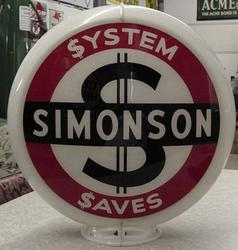 Simonson System Gas Globe