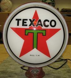 Very Rare Texaco 18 Inch Neon Globe!!!