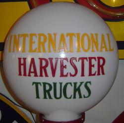 Rare International Harvestor Truck  Globe