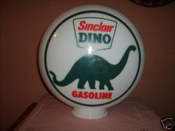 Reproduction/fantasy Sinclair Dino Globe