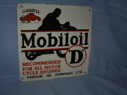 Phony Mobiloil Gargoyle Sign
