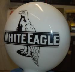 White Eagle Phony Gas Globe