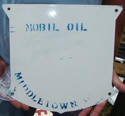 Phony Mobilfuel Diesel Sign