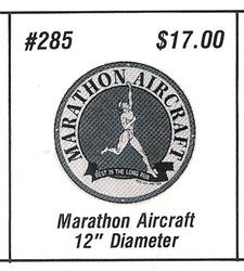 Marathon Aircraft fantasy sign